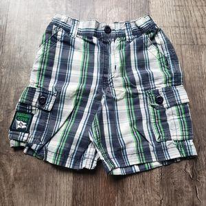 🟢40%Off Bundles 24m Boys Plaid Shorts